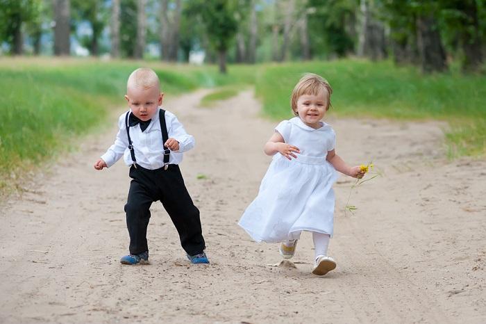 bigstock-Happy-Running-Babies-55588133