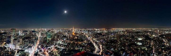東京シティビューからのパノラマビュー