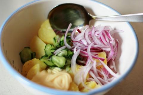 8_サラダ作り